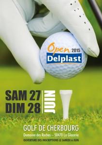 •Affiche open Golf Delplast 2016